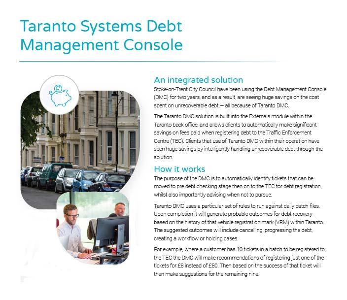 taranto-debt-management-console-brochure